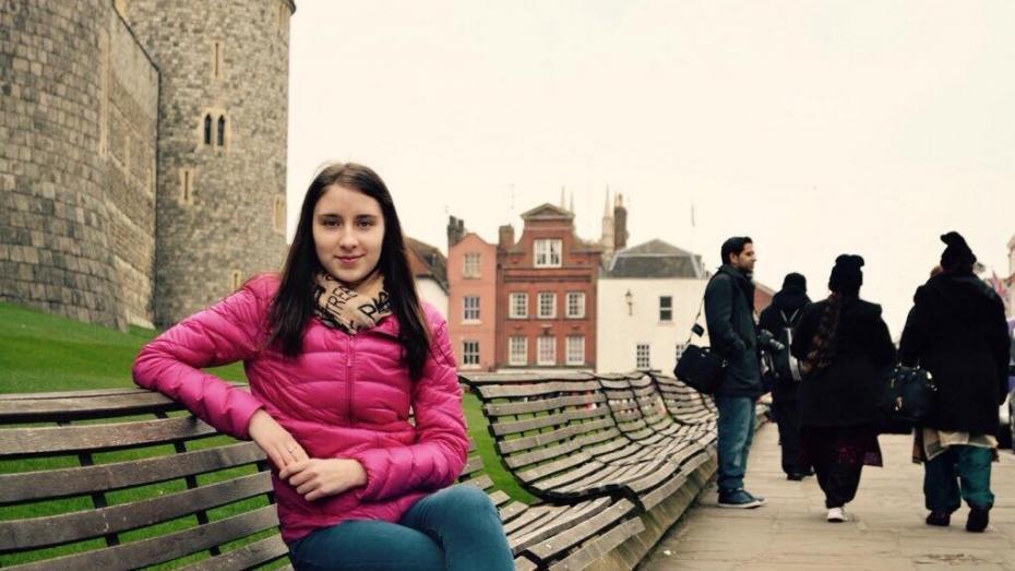 (foto) Tânăra din Moldova care e pe cale să devină prima moldoveancă polițistă la Londra