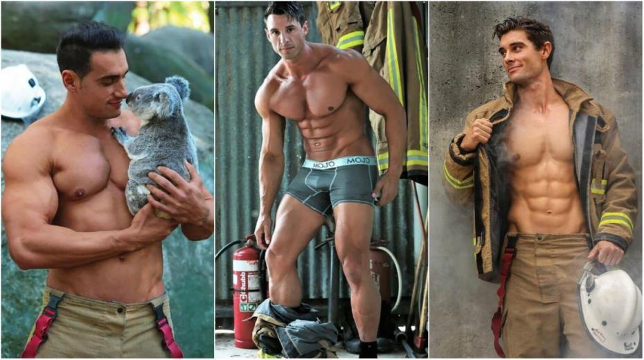 (foto) Pompierii hot. Salvatorii din Australia au pozat pentru tradiționalul calendar caritabil