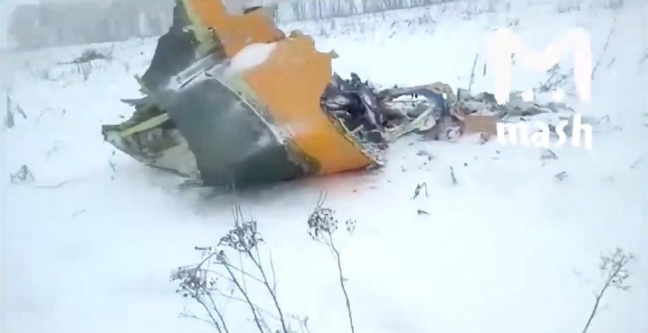 (foto, video) Un avion rusesc, cu 71 de pasageri s-a prăbușit în apropiere de Moscova
