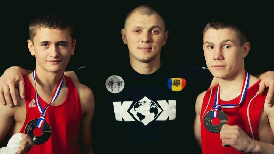 """(foto) Cartea de Aur. Sportivul Igor Untilă """"Prin câștigul nostru arătăm că Moldova are oameni de valoare"""""""