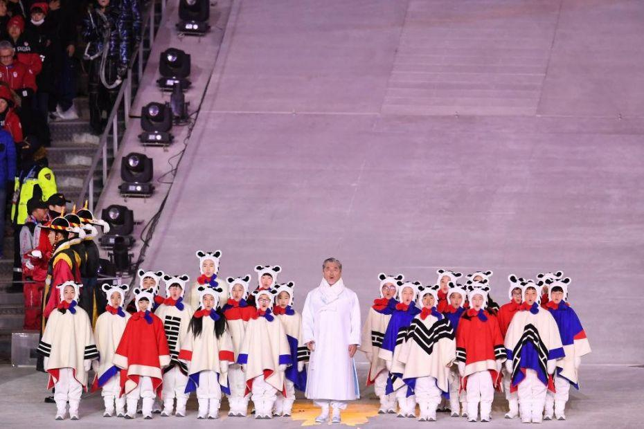 2018 Winter Olympic Games - Closing Ceremony_924017384