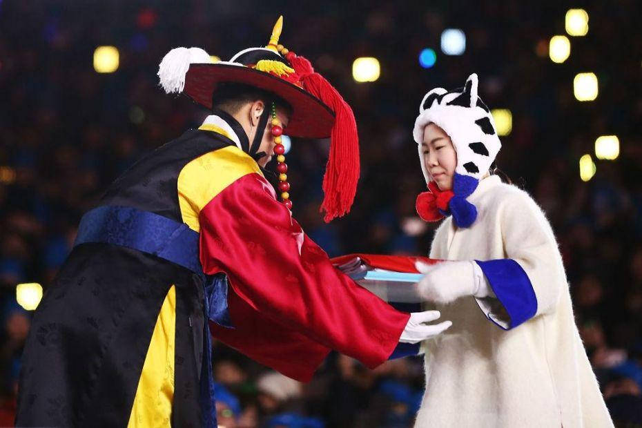 2018 Winter Olympic Games - Closing Ceremony_924017628