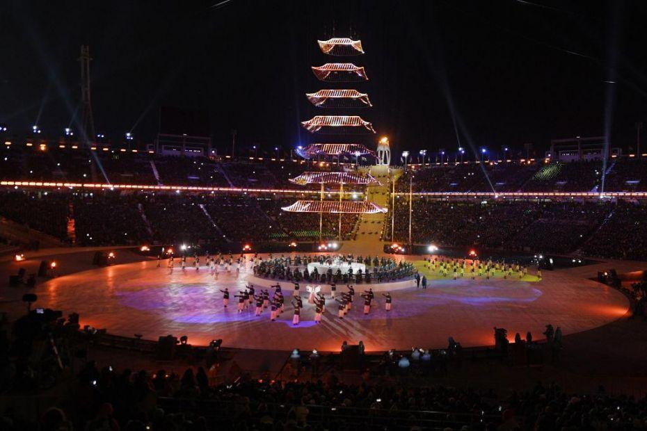 2018 Winter Olympic Games - Closing Ceremony_924017944