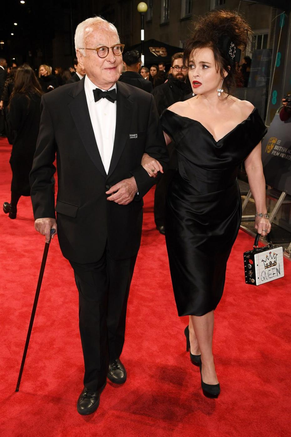 James Ivory and Helena Bonham Carter