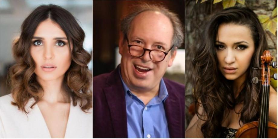 (video) Vocea de Oscar a Moldovei, Valentina Naforniță și violonista,Rusanda Panfili vor face echipă cu Hans Zimmer pentru un turneu muzical inedit