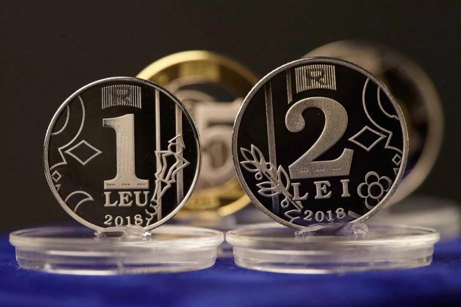 (video, foto) BNM a lansat astăzi 4 monede noi de 1, 2, 5 și 10 lei