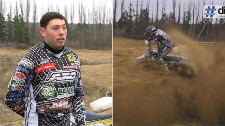 (video) Unde-s tinerii. Despre motoare, riscuri, eșecuri și victorii. Descoperă povestea lui Mihail Cociu, un motocrosser din Moldova