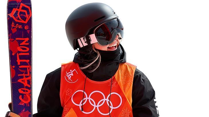(video) O amatoare a participat la proba de schi freestyle de la Jocurile Olimpice. Prin ce șmecherie a ajuns acolo