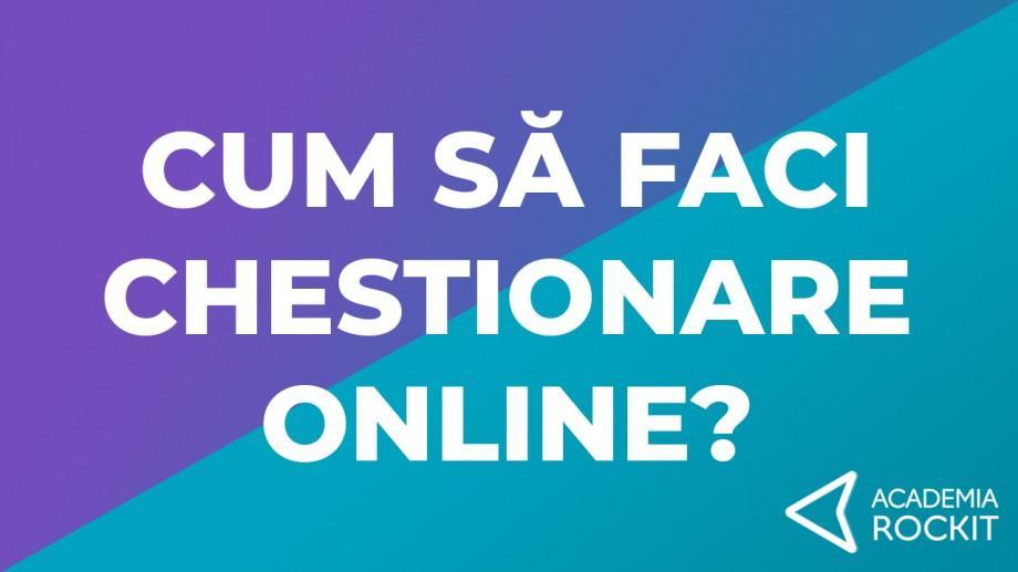 (video) Cum să faci chestionare online și să primești feedback rapid. Sfaturi de la Academia Rockit