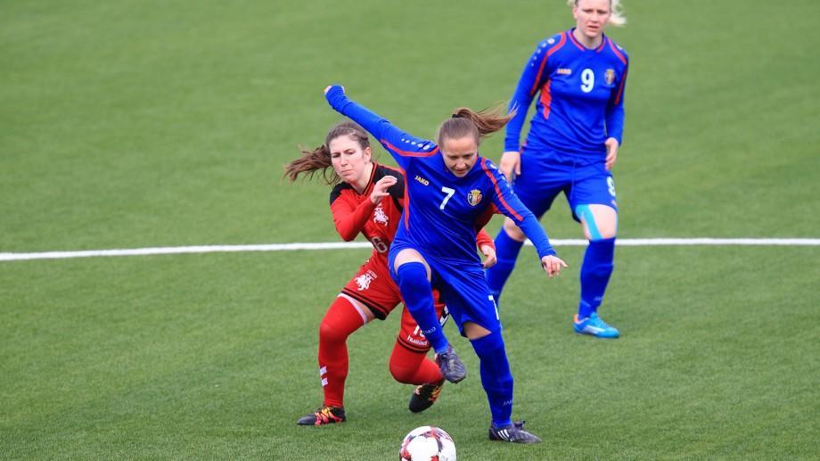 Naționala feminină a Moldovei va disputa două meciuri amicale cu selecționata Lituaniei