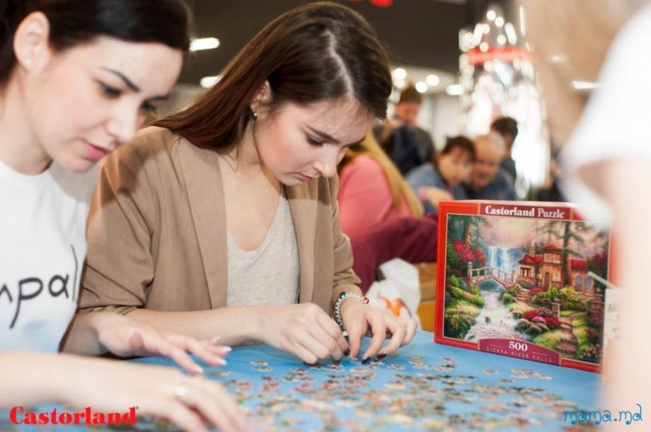 Puzzle Day Castorland 2018: Participă cu întreaga familie la campionatului de asamblare la viteză a puzzle-urilor