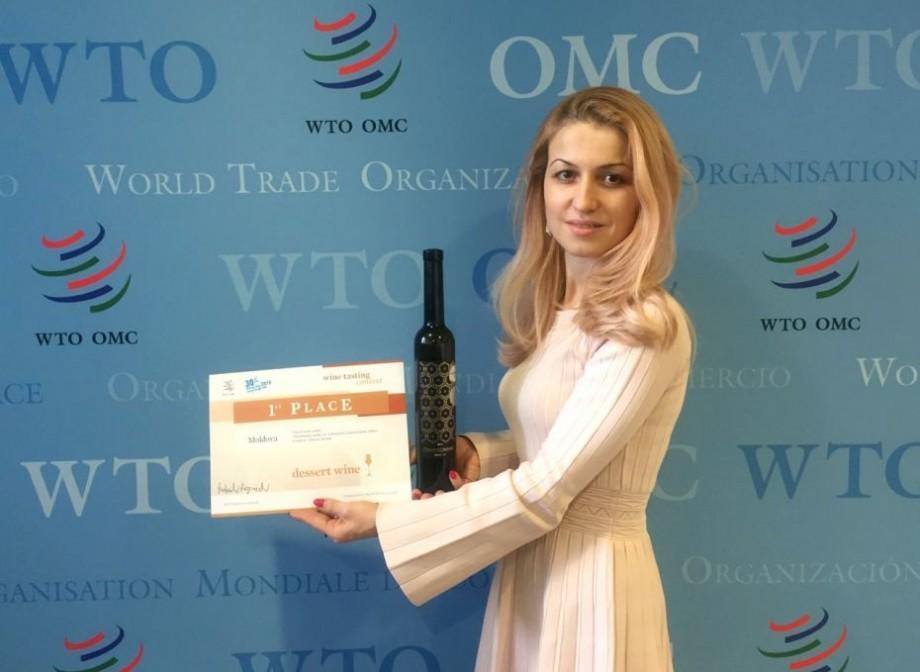 (foto) Locul I la un concurs internațional. Vinurile moldovenești au fost apreciate de către Organizația Mondială a Comerțului