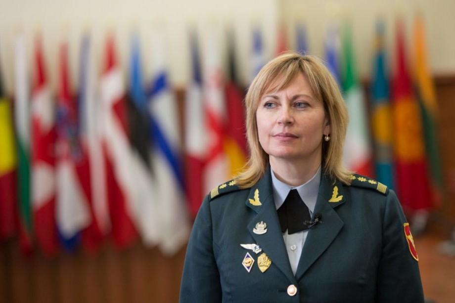 """Mariana Grama: """"Am spart ghețarul și sunt prima femeie care a obținut gradul militar de colonel"""""""