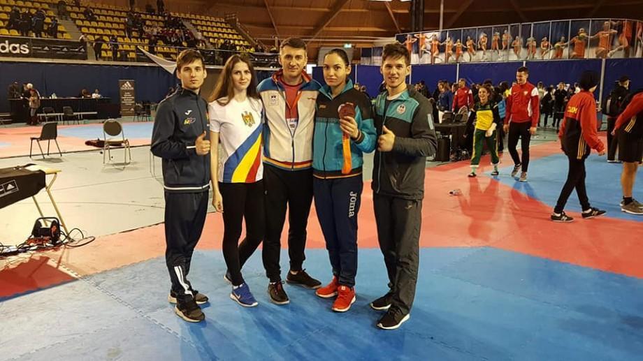 Luptătoarea din Moldova, Ana Ciuchitu, a obținut medalia de bronz la campionatul de Taekwondo din Olanda
