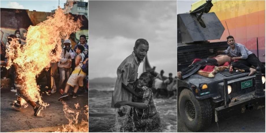 """(foto) Au fost anunțați câștigătorii concursului """"Pictures of the Year International 2017"""", la categoria """"Imagini de la fața locului"""" (I)"""