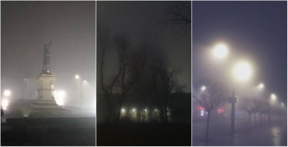 (foto) Chișinău sub plapumă de ceață. Cum s-a văzut fenomenul meteorologic pe Instagram