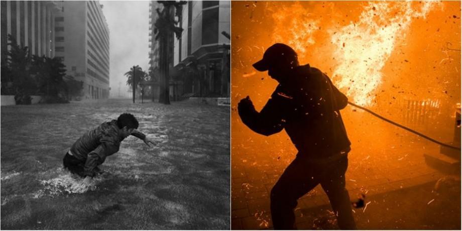 """(foto) Cine sunt câștigătorii concursului """"Pictures of the Year International"""", la categoria """"Impactul calamităților naturale în 2017"""" (III)"""