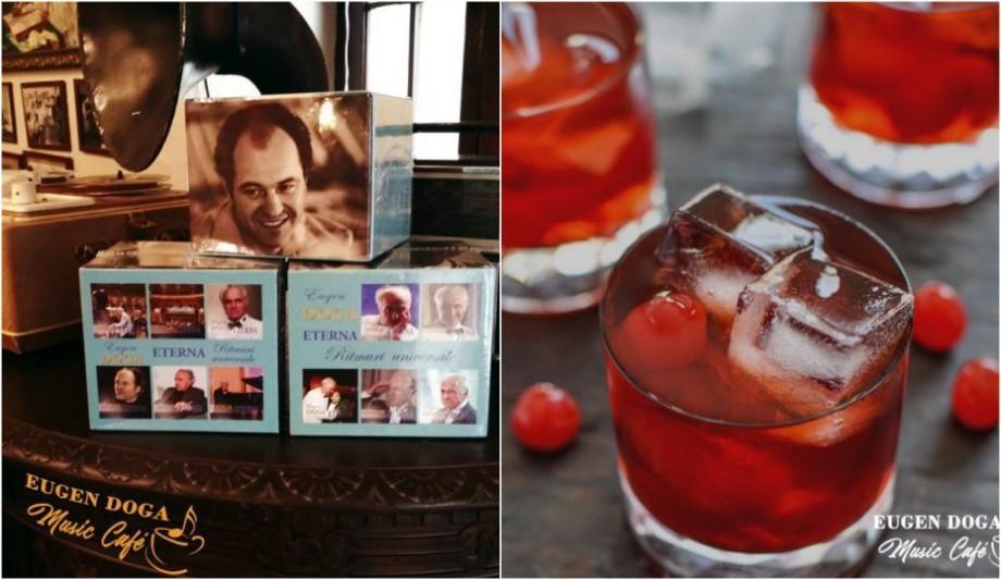 (foto) La Chișinău se deschide o cafenea dedicată compozitorului Eugen Doga. Unde se află și ce putem găsi în meniu