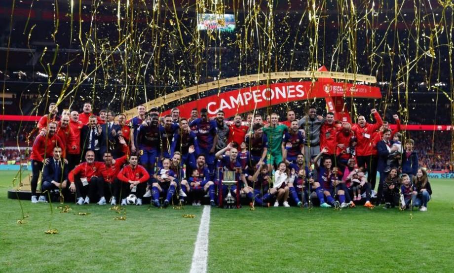 (video) FC Barcelona câștigă pentru a 30-a oară Cupa Spaniei. Lionel Messi a repetat un record vechi din 1950