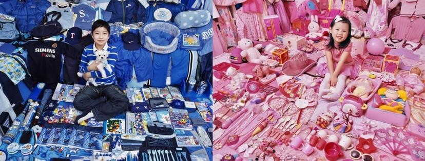 (foto) Viața în nuanțe roz/albastru. Cum stereotipurile influențează alegerile copiilor