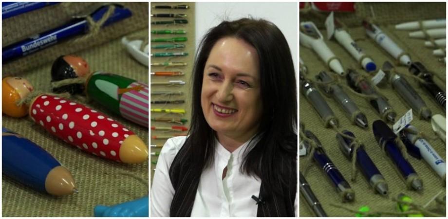 (video) Coolecții. Descoperă cea mai mare colecție de stilouri din Moldova adunată de Natalia Ciobanu