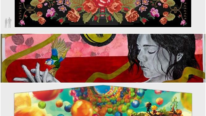 """(foto) A fost desemnat câștigătorul concursului """"Un Pic De Love"""". Vezi ce desen va apărea pe un perete din centrul Chișinăului"""