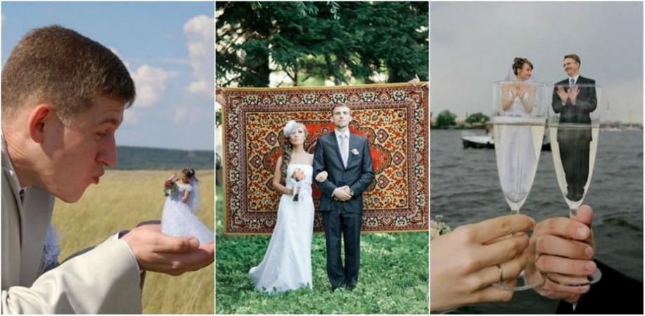 (foto) Dragostea nu a murit! Cele mai amuzante fotografii de la nunțile rusești care au cucerit internetul