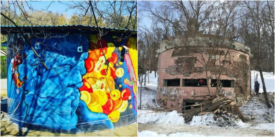 (foto) În Parcul Valea Morilor a fost renovat fosta stație de pompare. Cum arată aceasta