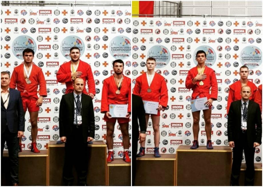 Performanțe pentru sportivii din Moldova. Au obținut mai multe medalii la Campionatul European de sambo pentru tineret și juniori