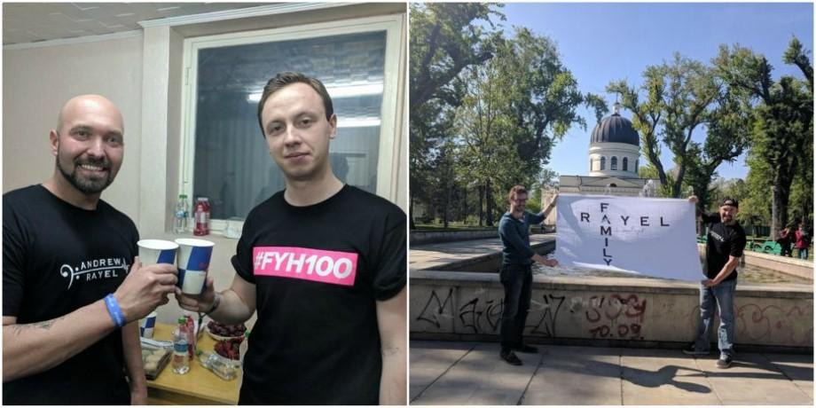 (foto) A călătorit mii de kilometri pentru a ajunge la concertul lui Andrew Rayel. Povestea unui fan din SUA care a ajuns la Chișinău