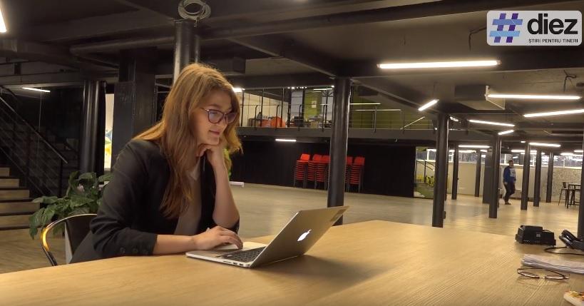 """(video) Unde-s tinerii. """"Feminismul trebuie să fie filosofia oricui"""". Cunoaște-o pe Diana Artiom, o tânără pasionată de domeniul IT"""