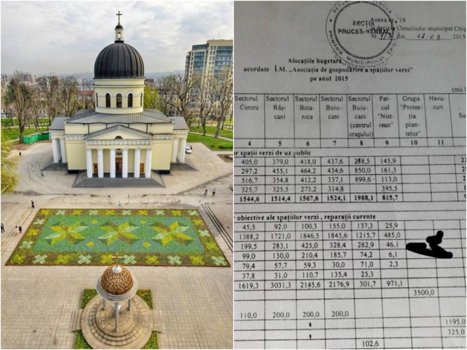 (doc) Războiul florilor: Un consilier al Silviei Radu spune cât a cheltuit primăria Chișinău în anii precedenți