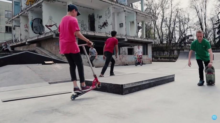 (video) La Chișinău s-a deschis primul skatepark din țară. Unde se află acesta