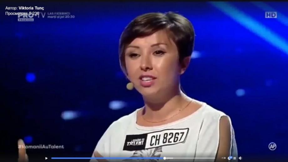 """(video) O vloggeriță din Moldova a făcut să râdă tot juriul de la Românii au Talent, dar nu a reușit să treacă în turul doi. """"Revină la anul cu un stand-up"""""""