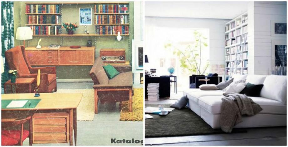 (foto) Cum a evoluat mobila. Casa perfectă din 1951 până în 2000, conform catalogului vintage al IKEA