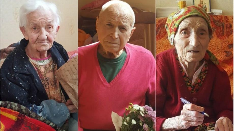 În Chișinău trăiesc trei tineri în etate care au atins și au întrecut vârsta de 100 de ani