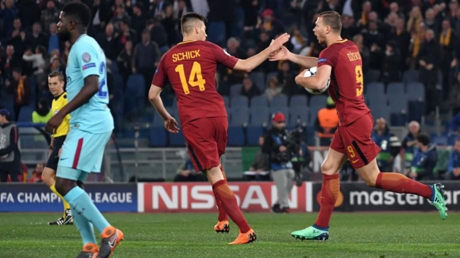 (video) Roma elimină FC Barcelona și se califică în semifinala UEFA Champions League
