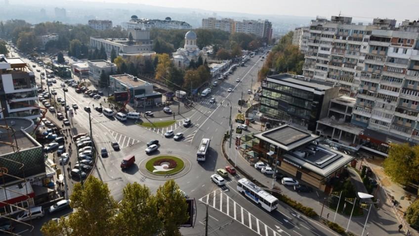 Proiect nou pentru sectorul Râșcani. Va fi renovat un sens girator și o trecere de pietoni de pe bulevardul Moscova