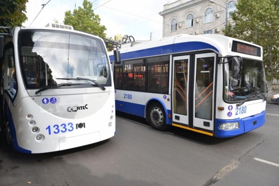 La Chişinău va fi lansată o nouă linie de troleibuz. Care va fi itinerarul acesteia