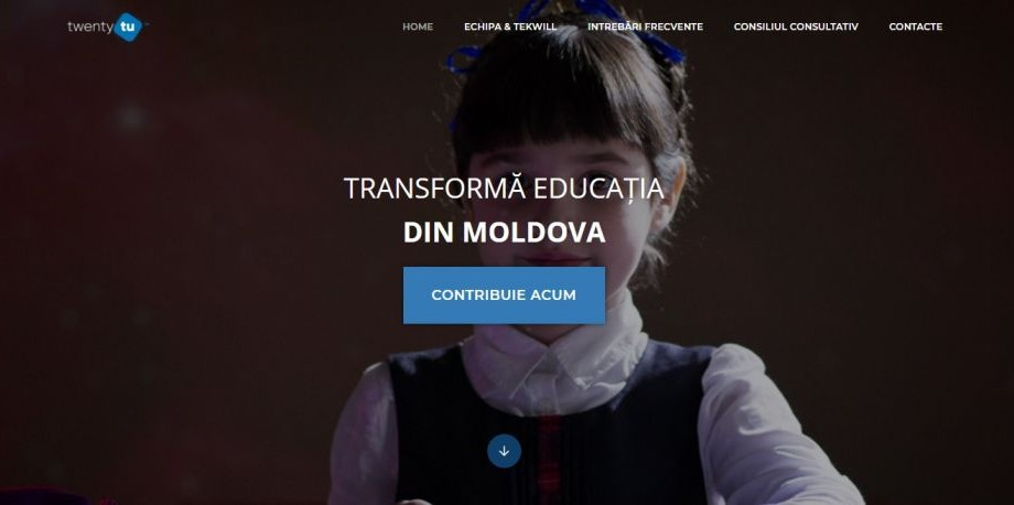 A fost lansat site-ul TwentyTu. Află în ce constă acest proiect și cum poți contribui la transformarea educației din Moldova