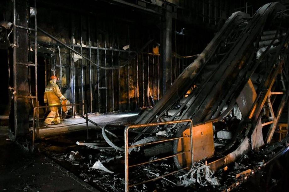 """Autoritățile din Rusia au anunțat cauza oficială a incendiului din centrul comercial """"Zimnyaya vishnya"""""""