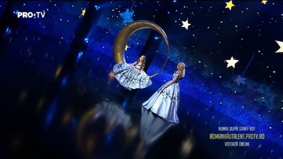 """(video) """"Mama și fiica"""" din Moldova s-au calificat în finala show-ului Românii au Talent. Vezi prestația emoționantă a lor"""