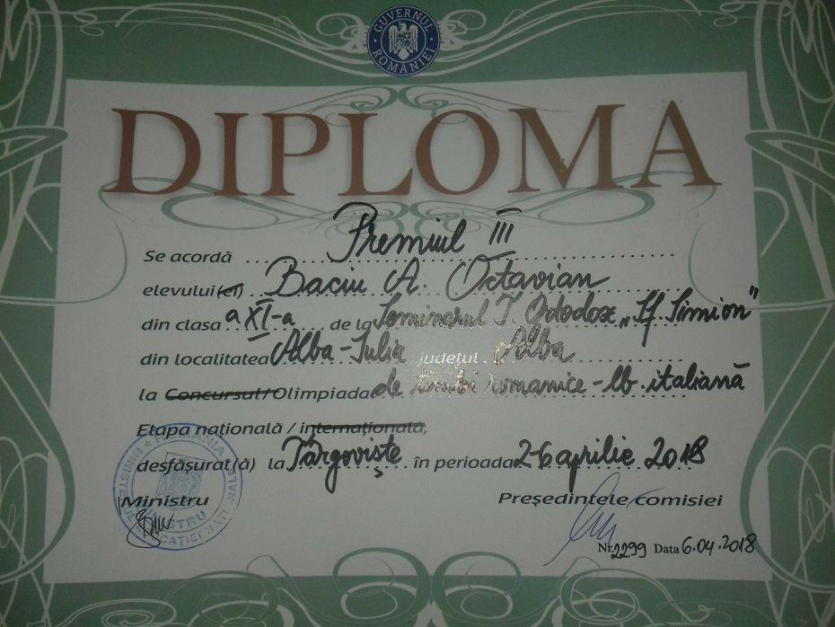 Octavian olimpic