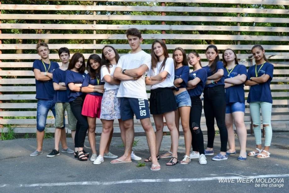 """Ești tânăr și motivat să faci o schimbare în comunitatea ta? Participă la cea de a 10-a ediţie a programului """"Wave Week Moldova"""""""