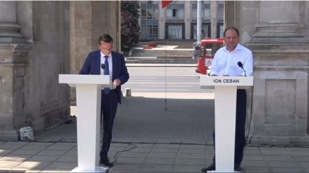 Primele imagini cu viceministra Finanțelor escortată de CNA. Ce declară Maria Cărăuș