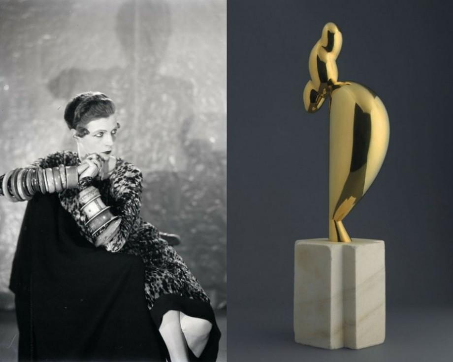 """Sculptura """"Tânăra sofisticată"""" semnată de Constantin Brâncuși a fost vândută cu un preț record"""