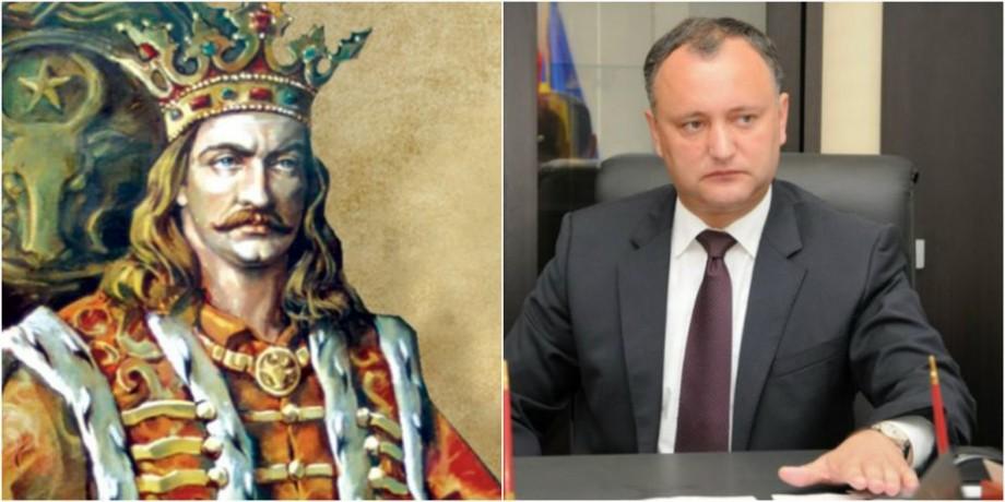 """Igor Dodon va rămâne fără """"steagul lui Ștefan cel Mare"""" pe 12 septembrie. Comisia parlamentară a respins inițiativa președintelui"""