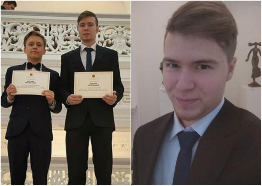 """Elevi aproape cu 10 pe linie la BAC. Cunoaște-l pe Kiril Solovei: """"Am făcut un pariu cu părinții"""""""