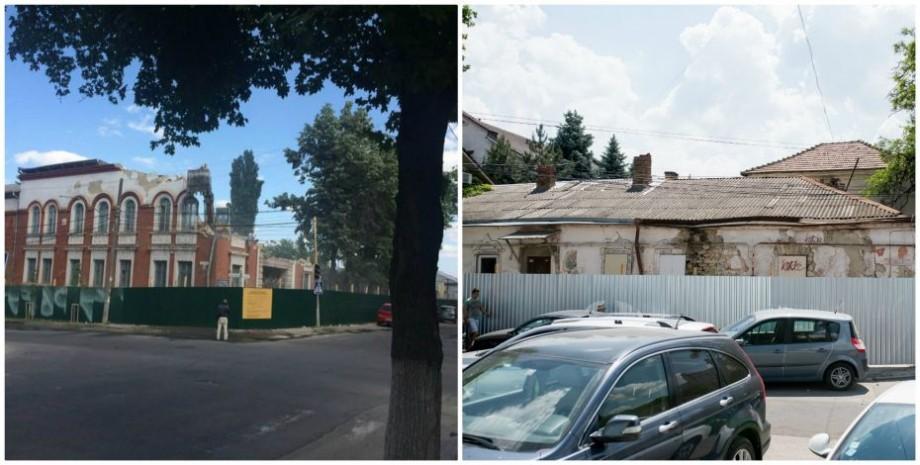 (foto) În timp ce una va deveni centru comercial, alta urmează să fie restaurată. Soarta a două clădiri istorice din Chișinău