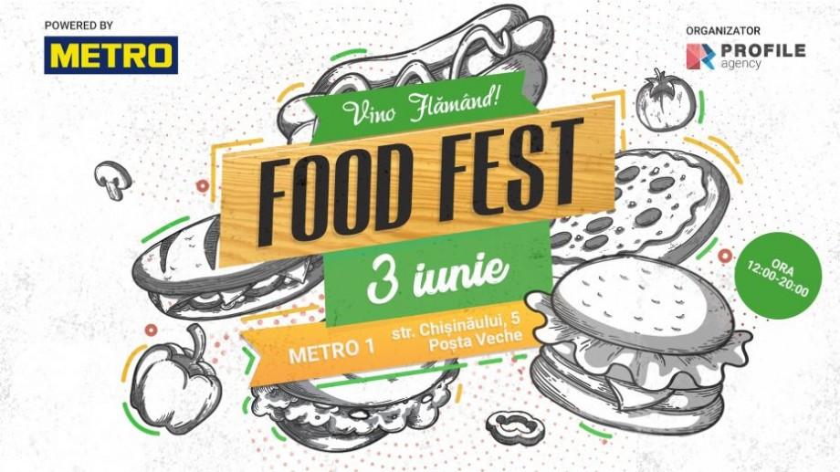 Vara începe cu note aromate, soare și gusturi savuroase. FOOD FEST. Powered by Metro!, va aduce 15 producători autohtoni de mâncare și băuturi răcoritoare
